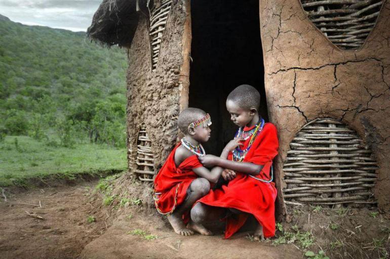 Волонтерство в племени масаи