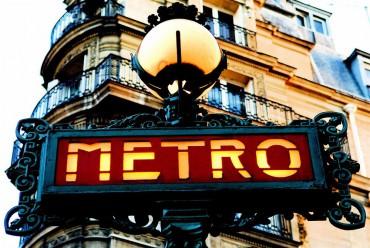 Метро-в-Париже