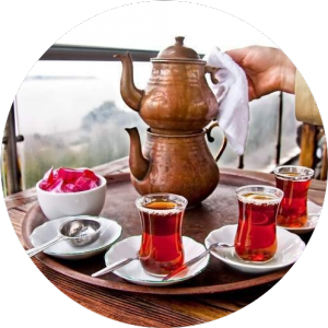 Чай по-турецки в Стамбуле