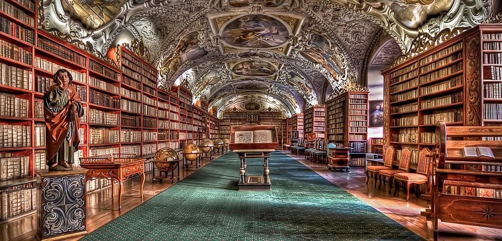 Национальная библиотека Чехии в Клементинуме
