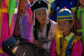 Волонтером в детский лагерь в Монголию