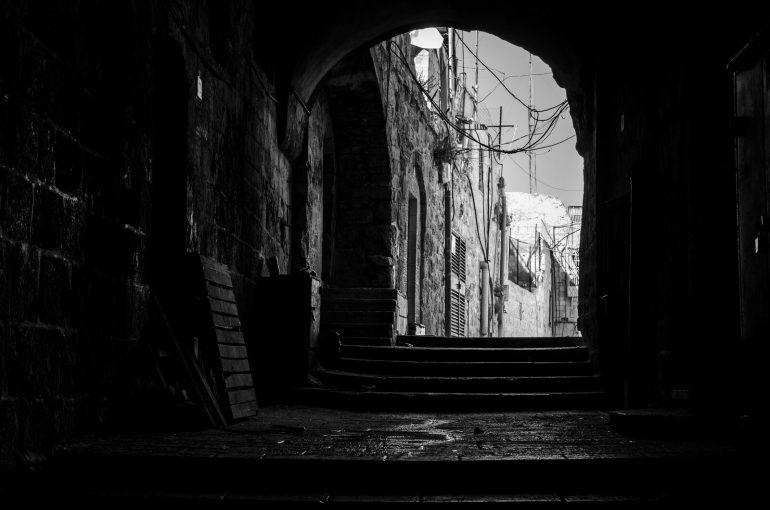 Иерусалим в черно-белом