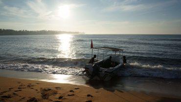 через океан на резиновой лодке