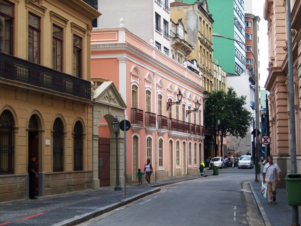 Улица в Сан-Пауло