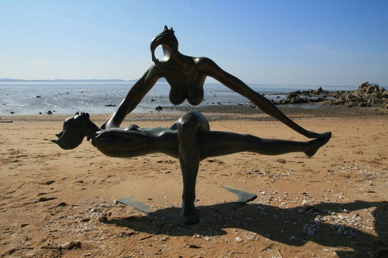 Парк скульптур в Южной Корее