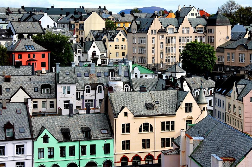Алесунд, Норвегия