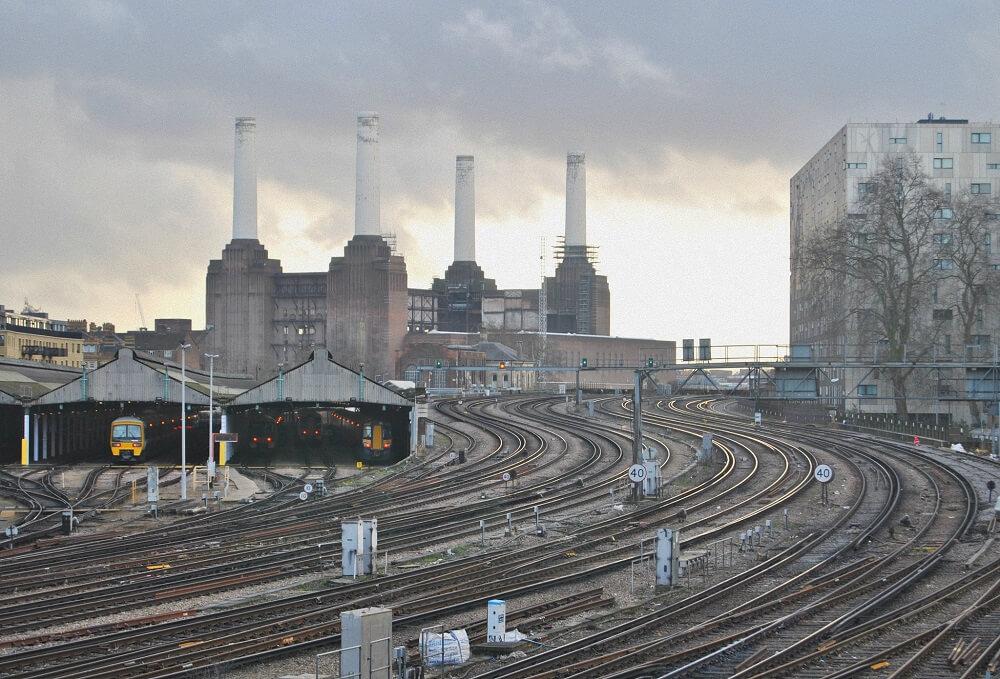 Электростанция Баттерси в Лондоне