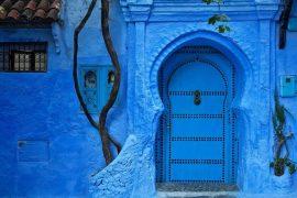 Города синего цвета