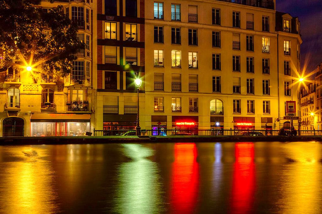 Канал Сен-Мартен в Париже