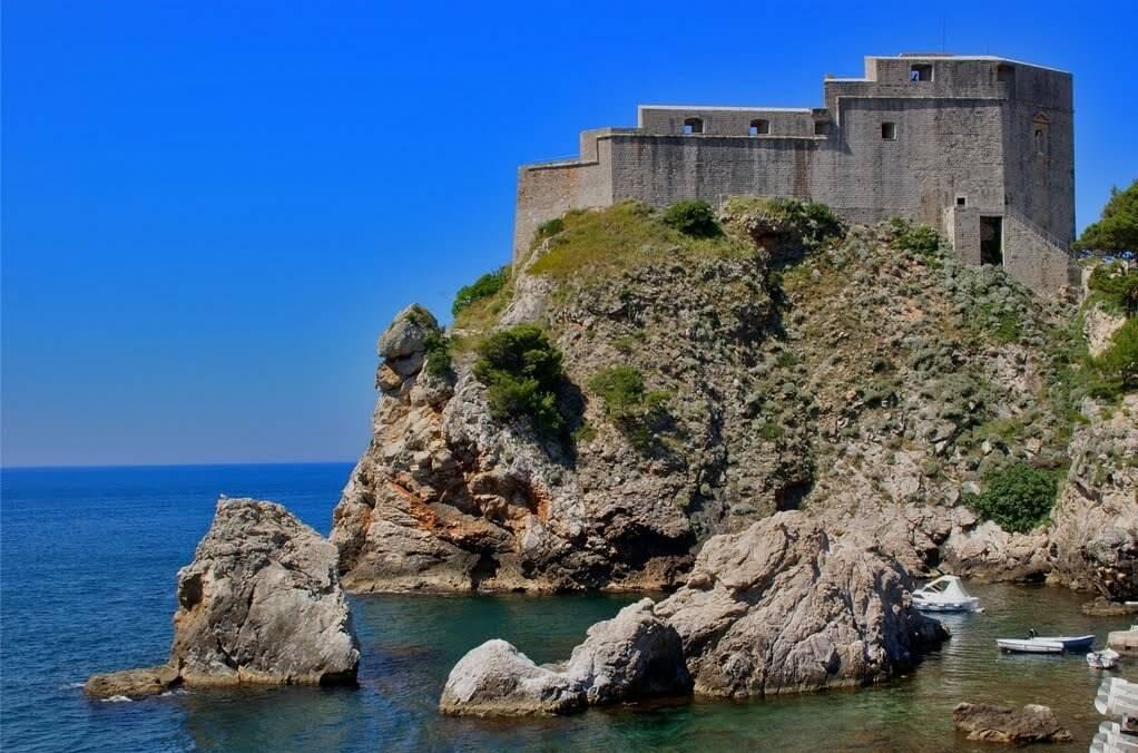 Крепость Ловриенац, Дубровни. Хорватия
