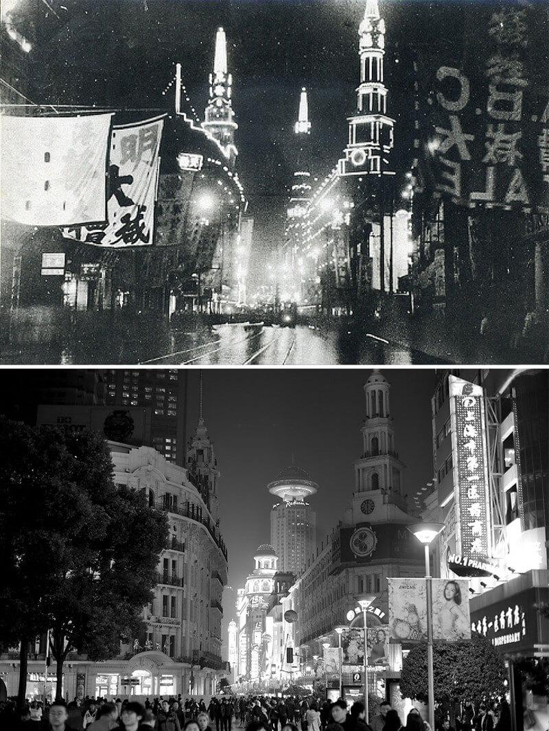 Нанкинская дорога в Шанхае