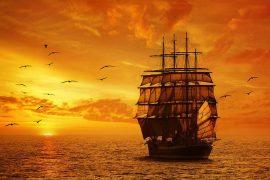 Путешествие на парусных судах