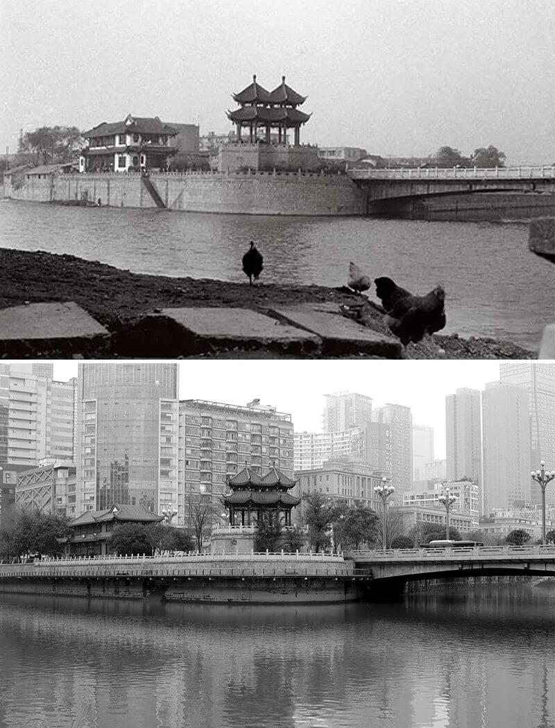 Вид на город Чэнду