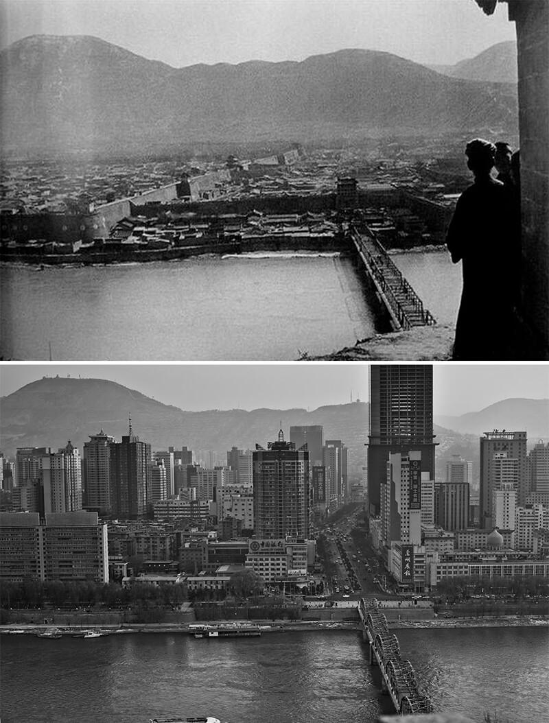 Вид на город Ланьчжоу