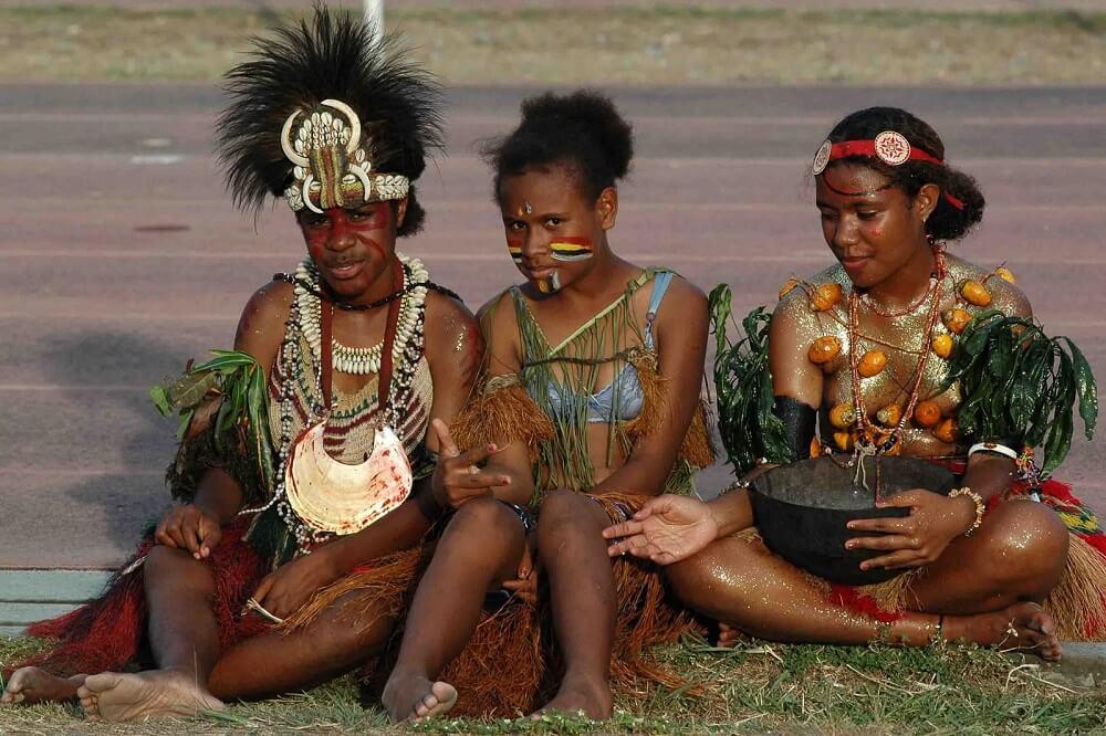 Жители Папуа-Новой Гвинеи