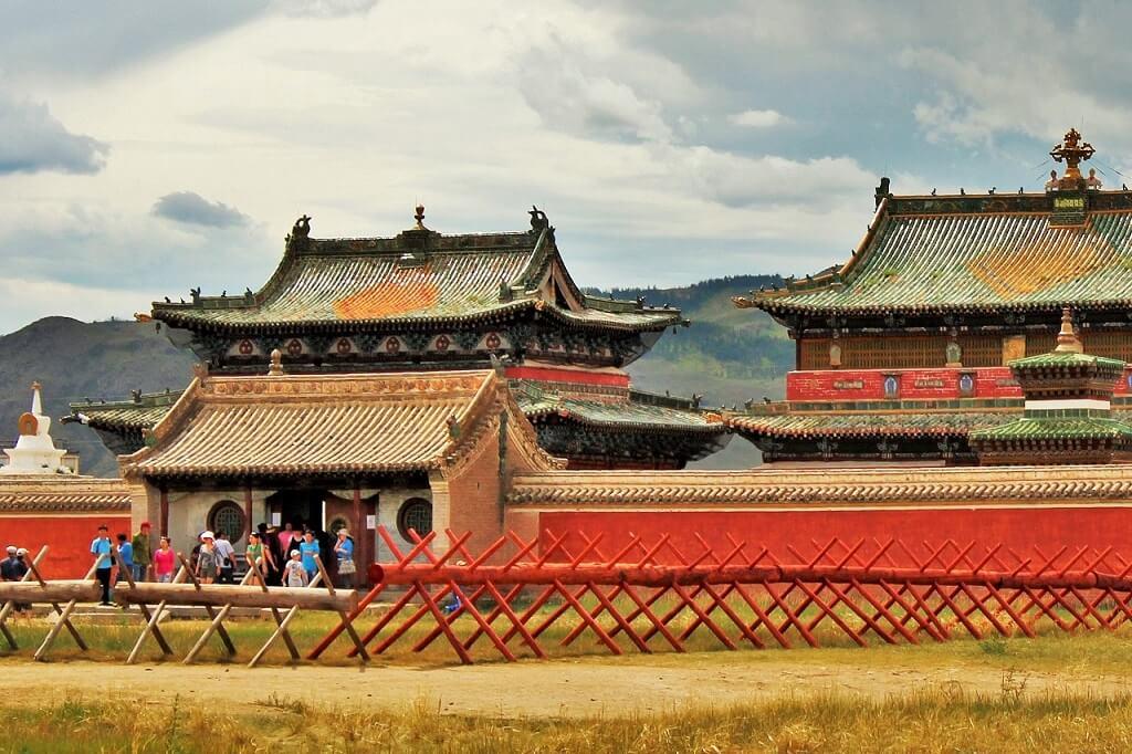 Буддистский храм Эрдене Зуу, Монголия
