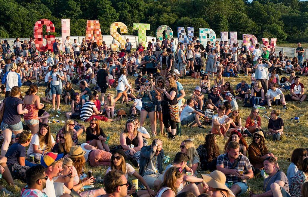 Фестиваль Glastonbury в Великобритании