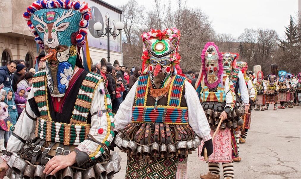 "Фестиваль ""Сурва"" в Болгарии"