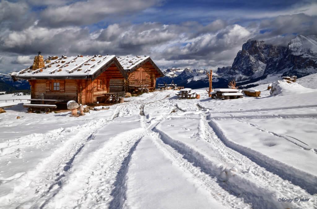 Работа в Альпах