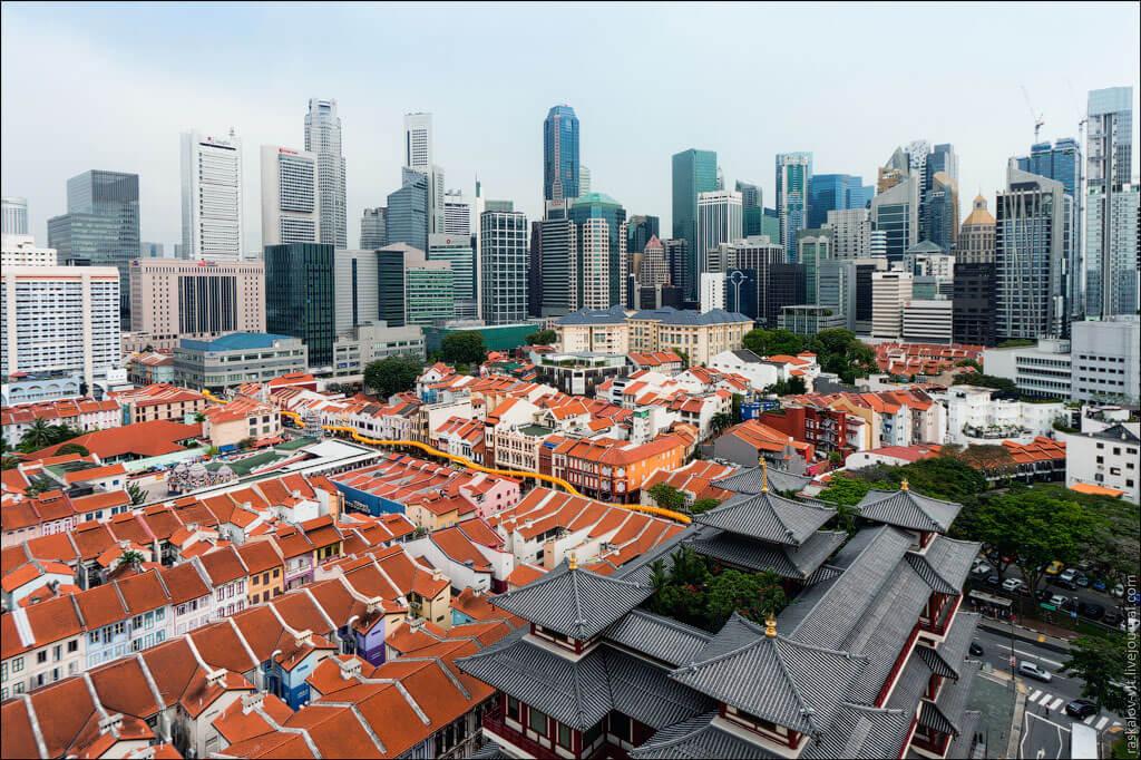 """В. Раскалов """"Сингапур. Китайский квартал"""""""