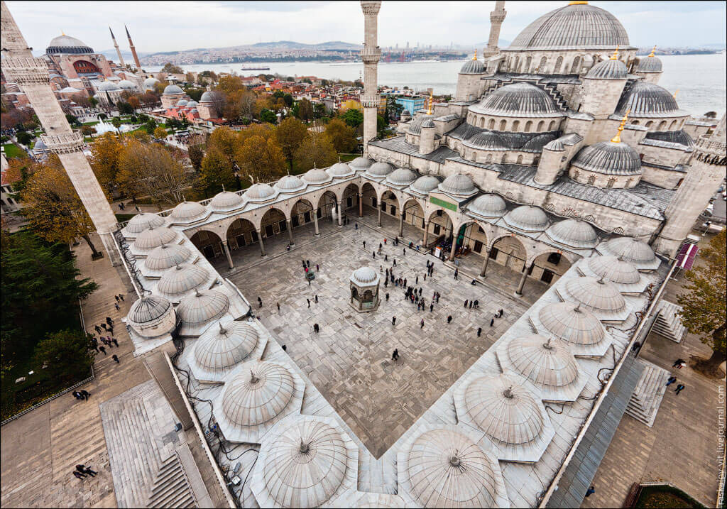 """В. Раскалов """"Стамбул Голубая мечеть"""""""