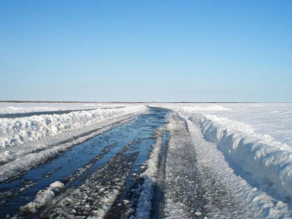 Дорога в Туктояктук