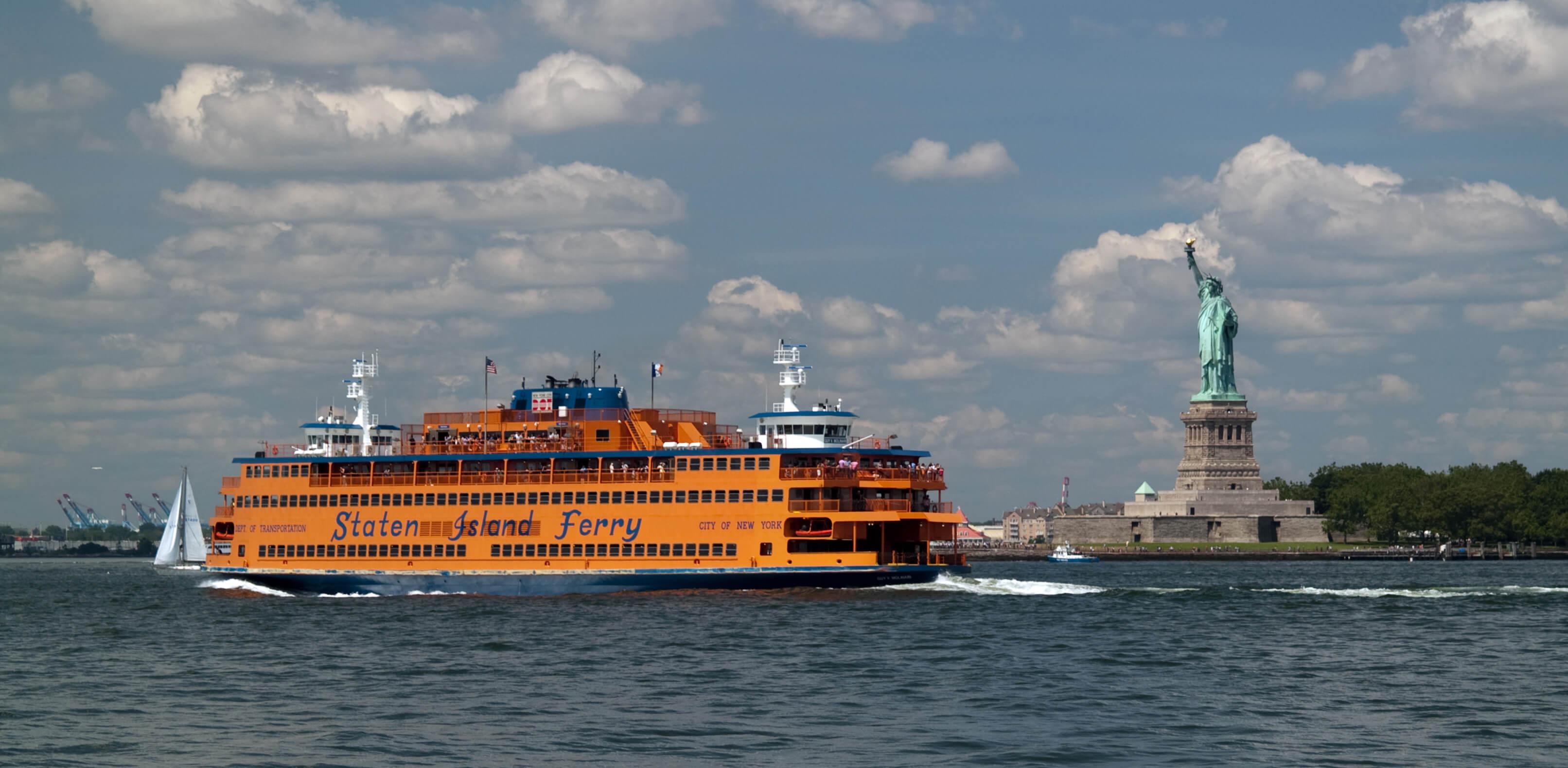 Паром Staten Island Ferry
