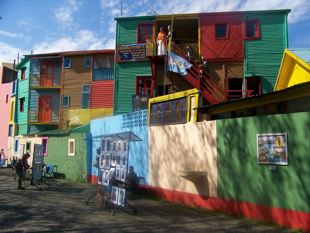 Район Каминито, Буэнос-Айрес