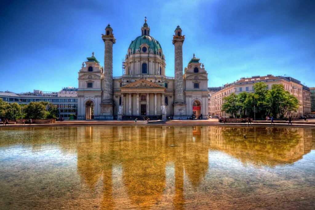 Вена, Австрия Бесплатная Вена Бесплатная Вена Vena Avstriya
