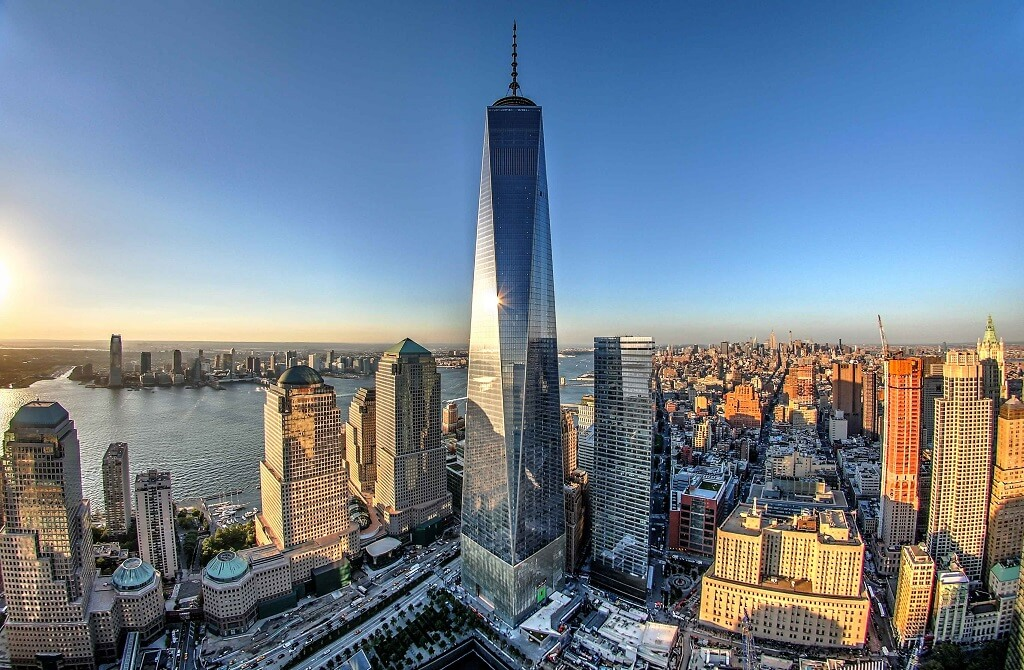 Before the World Trade Center The western portion of the World Trade Center site was originally under the Hudson River with the shoreline in the vicinity of