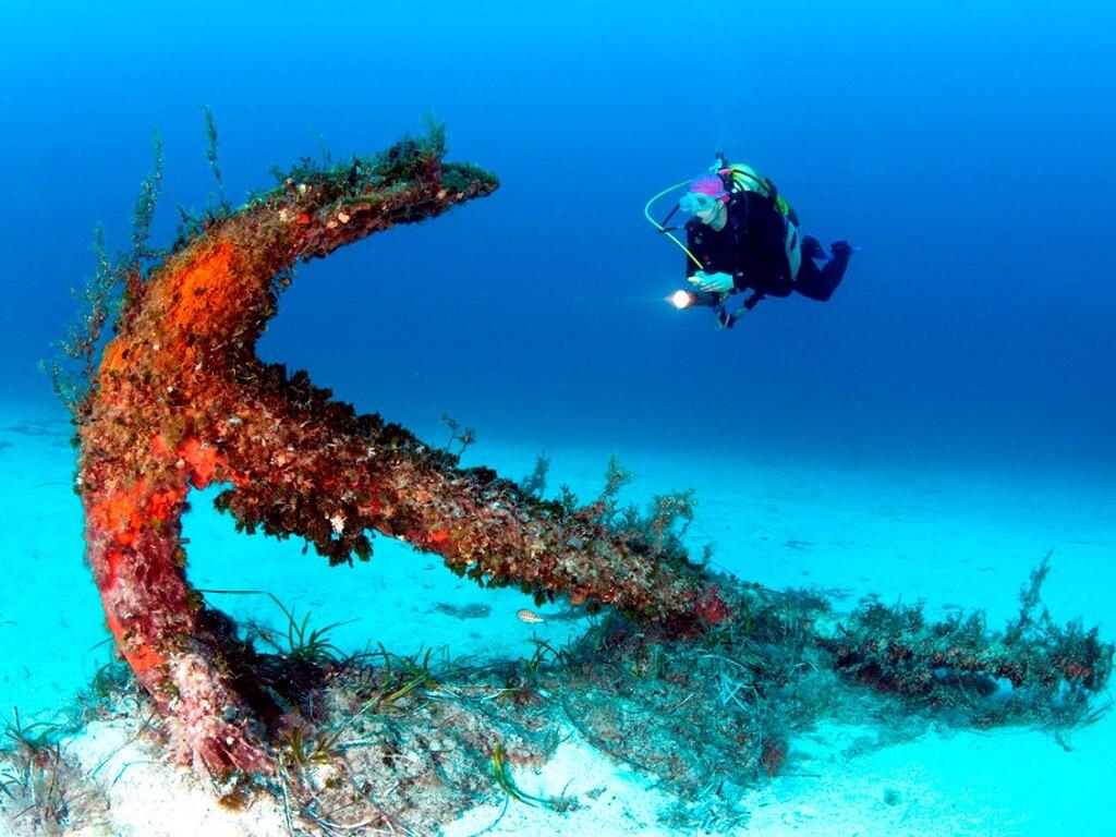Затонувшие корабли у Мальтийского архипелага