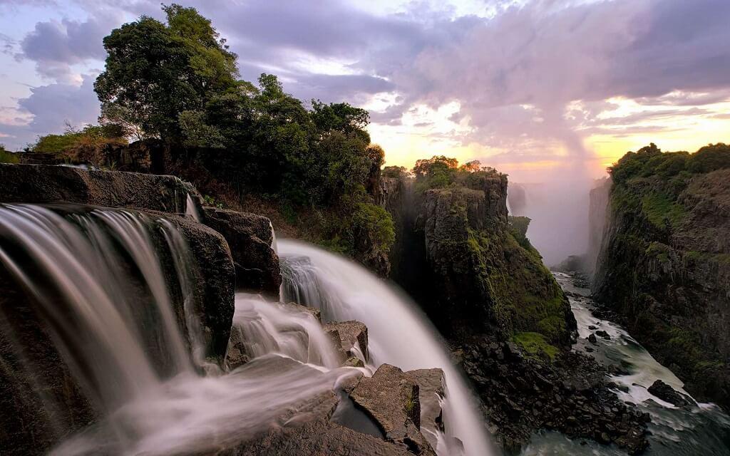 Водопад Виктория. Замбия