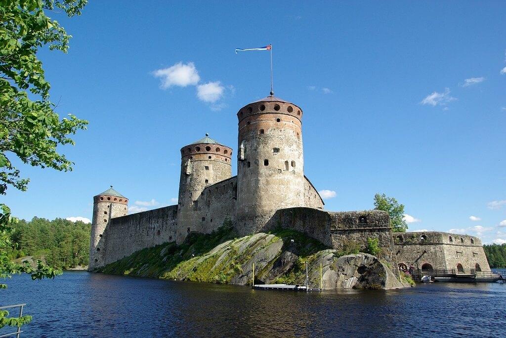 Замок в районе Суоменлинна, Хельсинки