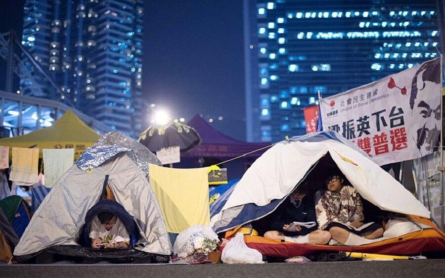 Кемпинг в Гонконге