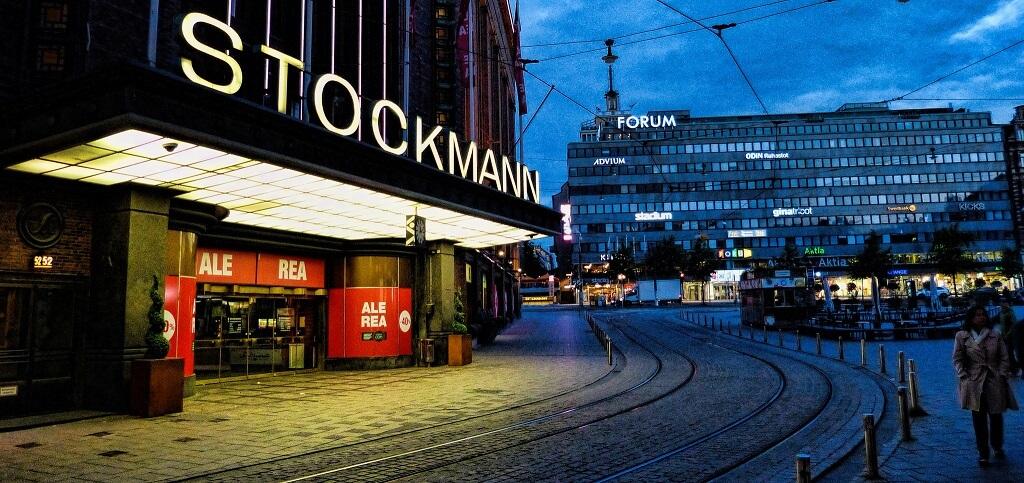 Магазины в Финляндии