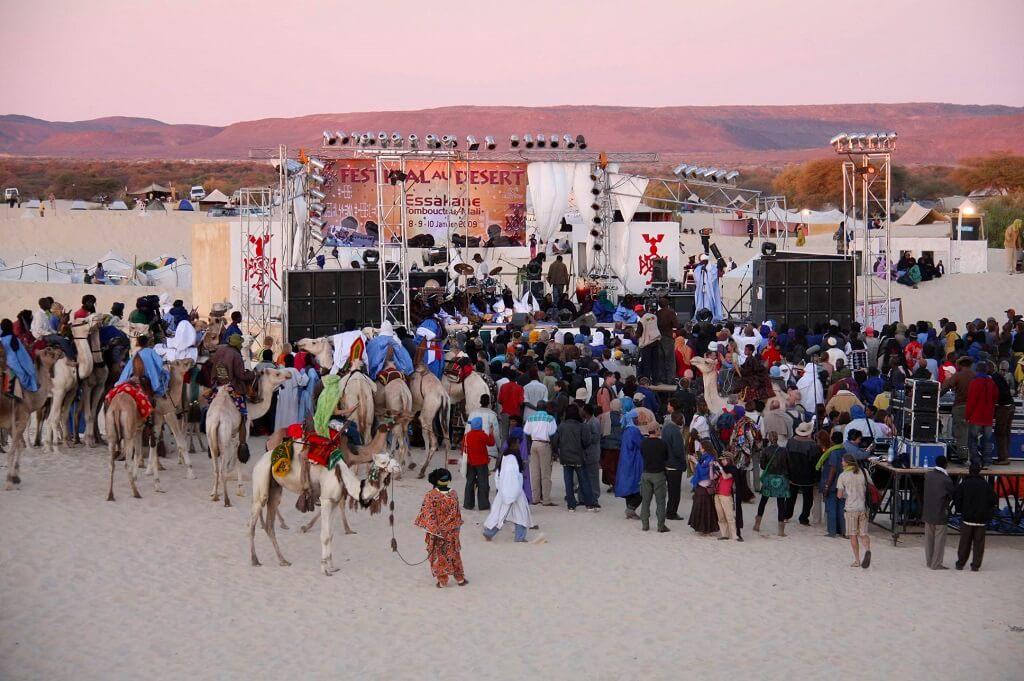 Фестиваль в пустыне