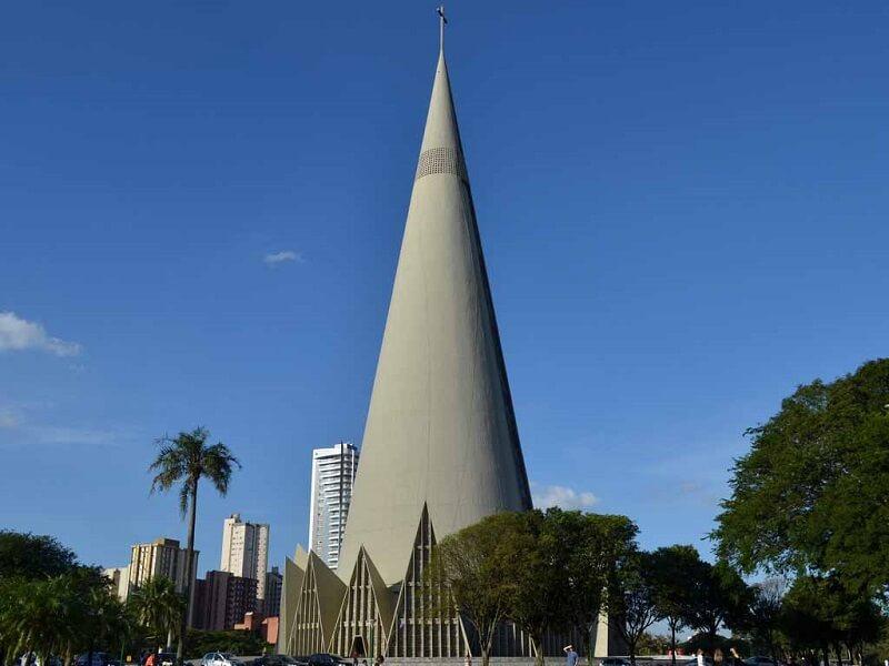 Храм в Бразилии