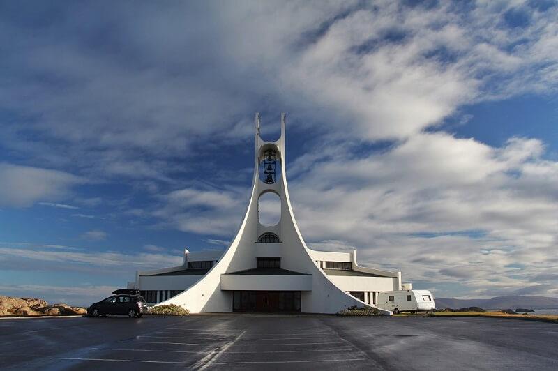 Храм в Исландии