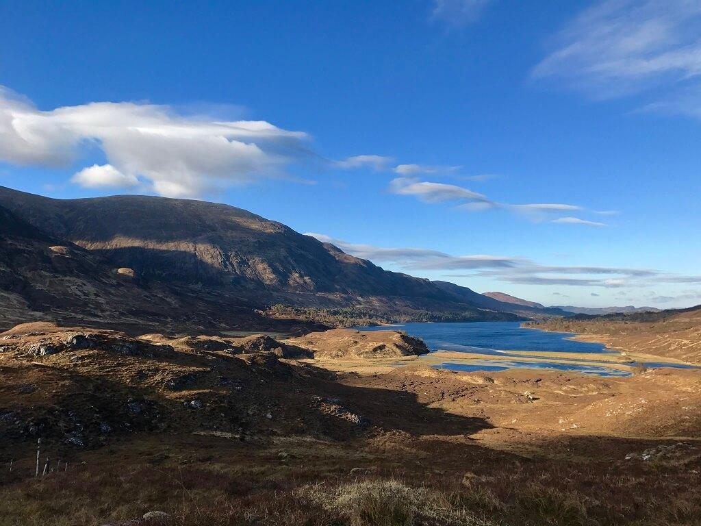 Озеро Loch Affric