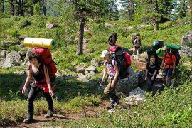 Правила поведения в горах с детьми