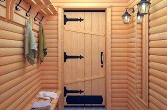 Особенности выбора двери для бани