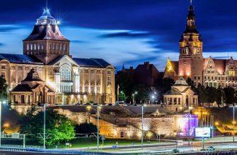 Трудоустройство украинцев в Польша, Щецин